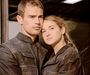four, divergent, and ties image