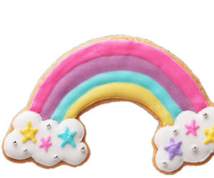 rainbow and cookie image