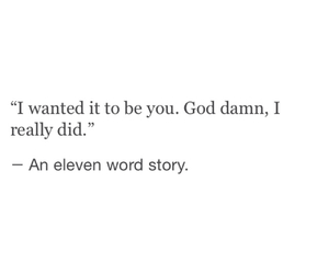 story, love, and eleven word story image