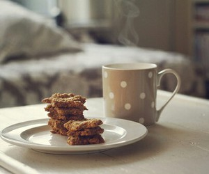 biscuits, good morning, and coffe image