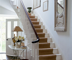 berber carpet, carpet on stairs, and carpet runner stairs image