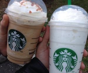 starbucks, food, and coffee image