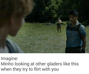 Minho, the maze runner, and imagines image