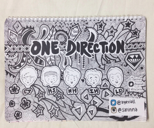 doodle, drawings, and 1d image