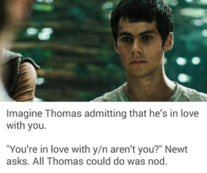 thomas, the maze runner, and imagines image