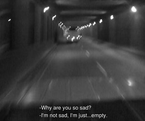 sad, empty, and alone image