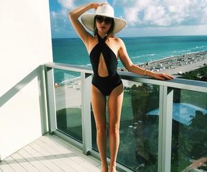 fashion, girl, and Miami image