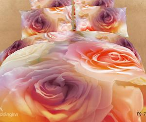 best selling online, 3d floral bedding, and floral bedspreads image
