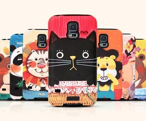 animal, cute, and galaxy note 4 case image