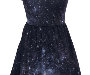 dress, galaxy, and peter pan image