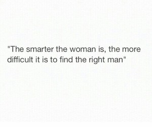 quote, woman, and smart image