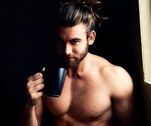 beard, beautiful, and body image