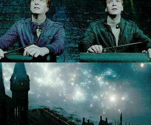 deathly hallows, harry potter, and twins image