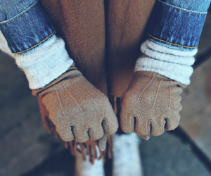 fashion, glamour, and gloves image