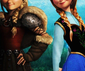 anna, astrid, and frozen image