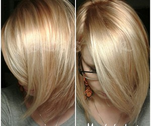 blonde, copper, and hair image
