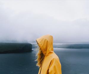 girl, yellow, and photography image