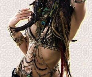 belly dance and woman image