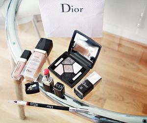 dior, makeup, and fashion image