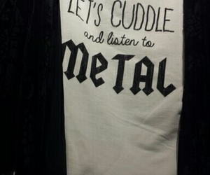 cuddle, hot topic, and metal image