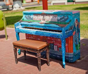 art, piano, and i'm yours image