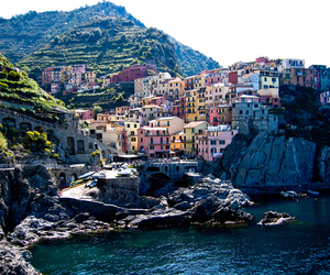 beautiful, italy, and ocean image