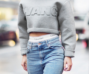 fashion, jeans, and Calvin Klein image