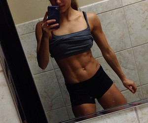 abs and strong image