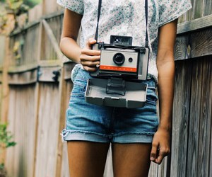 vintage, hipster, and camera image