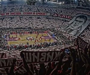 Belgrade, Basketball, and red star image