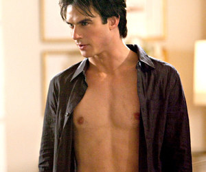 blue eyes, ian somerhalder, and sexy image