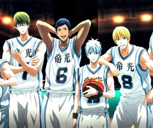 anime, Basketball, and kuroko no basket image