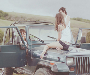 adventure, girl, and friends image