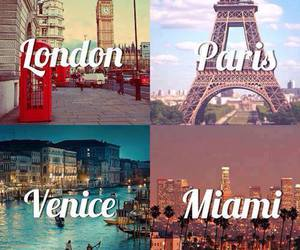 london, paris, and travel image