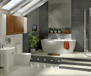 bathroom, home, and perfect image