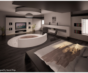 bedroom, home, and perfect image