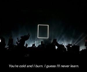 broken, burn, and cold image