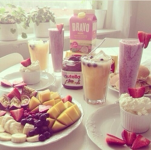 beautiful, breakfast, and healthy image