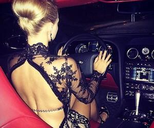 car, dress, and luxury image
