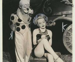 circus, clown, and girl image