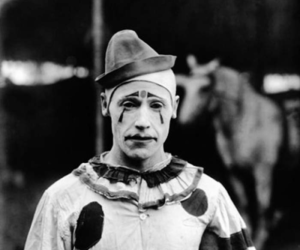 clown, vintage, and circus image