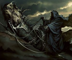 art, the lord of the rings, and nazgul image