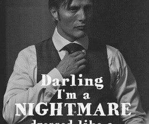 NBC, mads mikkelsen, and hannibal lecter image