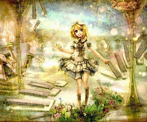 kagamine rin and vocaloid image