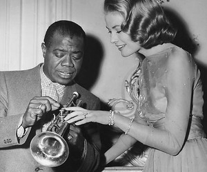 grace kelly and louis armstrong image