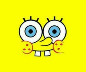 yellow, spongebob, and smile image