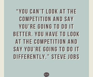 quote and Steve Jobs image
