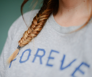 hair, forever, and girl image