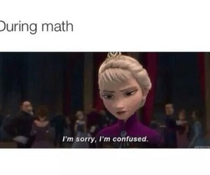 math, funny, and frozen image