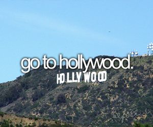hollywood and before i die image